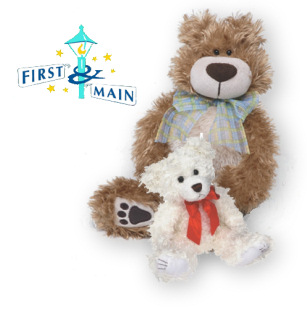 First and Main Stuffed Teddy Bears