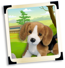 Stuffed Beagles and Plush Beagles