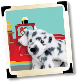 stuffed dalmatians and plush dalmatians