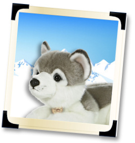 Stuffed Huskies and Plush Huskies