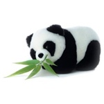 Bamboo The Plush Panda by Aurora - 10 Inches
