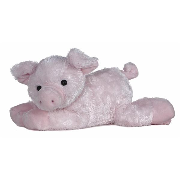 piggolo the stuffed pig by aurora. Black Bedroom Furniture Sets. Home Design Ideas