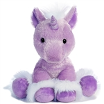 Dreaming of You the Purple Unicorn Stuffed Animal by Aurora