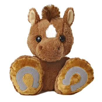 Trots 10 Inch Taddle Toes Horse Stuffed Animal by Aurora