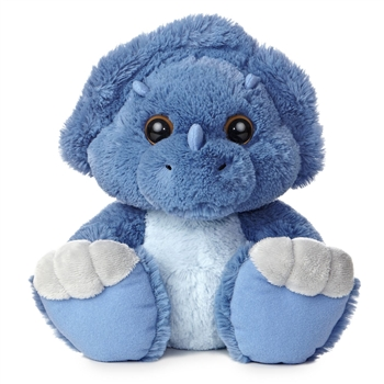 Toughie the Taddle Toes Stuffed Triceratops by Aurora