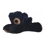 Sullivan the Stuffed Black Bear Cub by Aurora