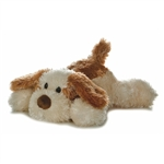 Scruff the Brown and Tan Stuffed Dog by Aurora