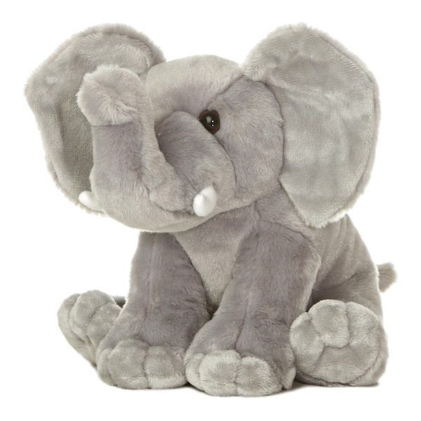 Elephant Stuffed Toy : Destination nation elephant stuffed animal by aurora