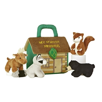 My Forest Friends Plush Animals Playset for Babies by Aurora