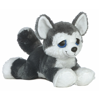 Blue the Plush Husky Dreamy Eyes Stuffed Dog by Aurora