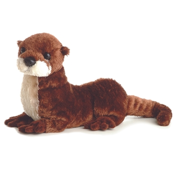 Stuffed North American River Otter by Aurora