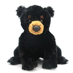 Blackstone the Stuffed Black Bear by Aurora