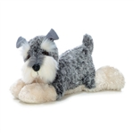Ludwig the Stuffed Schnauzer Dog by Aurora