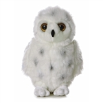 Snowy the Plush Snowy Owl by Aurora