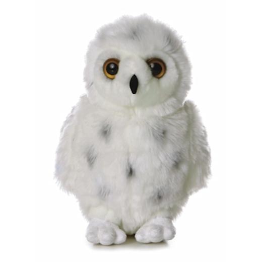 Snowy The Plush Snowy Owl By Aurora