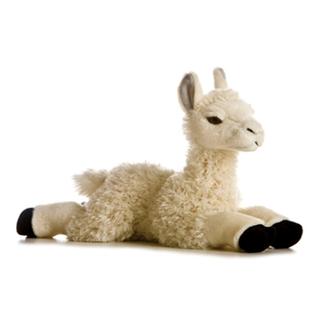 Cream Plush Llama by Aurora