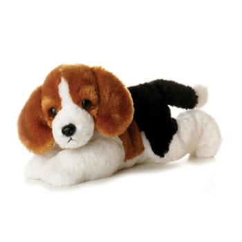 Homer the Stuffed Beagle Dog by Aurora