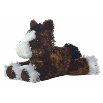 Clydes the Plush Clydesdale by Aurora