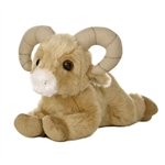Little Rammy the Stuffed Bighorn Sheep Mini Flopsie by Aurora