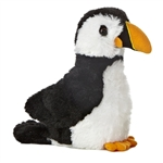 Little Muffin the Stuffed Puffin Mini Flopsie by Aurora