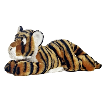 Indira the Stuffed Tiger Flopsie Plush Wild Cat by Aurora