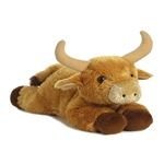 Toro the Stuffed Bull Flopsie by Aurora