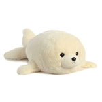 Jumbo Stuffed Baby Harp Seal Super Flopsie by Aurora