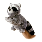 Bandit the Plush Raccoon Full Body Puppet By Aurora