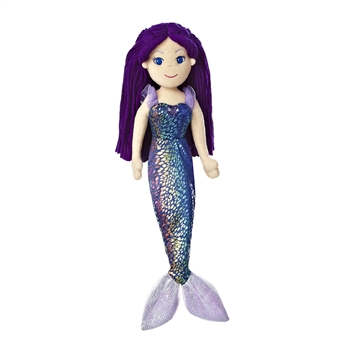 Marika the Sea Sparkles Purple-Haired Mermaid Doll by Aurora