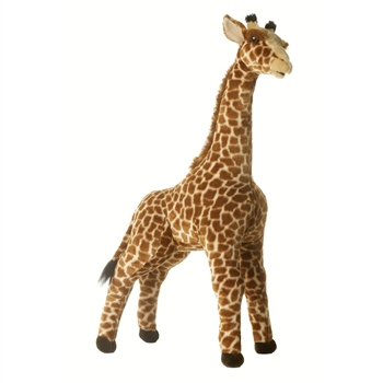 Acacia The Realistic 31 Inch Standing Plush Giraffe Stuffed Animal By Aurora