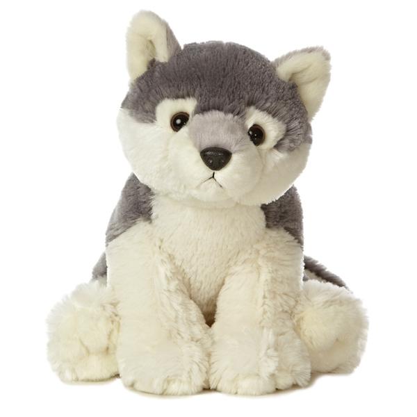 destination nation wolf stuffed animal by aurora. Black Bedroom Furniture Sets. Home Design Ideas