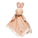 Plush Brown Bunny Baby Blanket 14 Inch Lil' Snuggler by Douglas