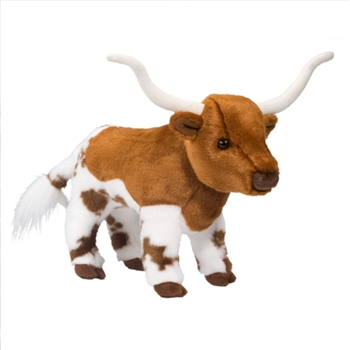 Fitzgerald the Plush Longhorn Steer by Douglas