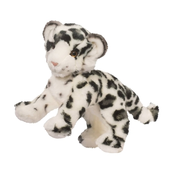 Irbis the Plush Snow Leopard Cub by Douglas