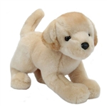 Spankie the 12 Inch Stuffed Yellow Lab Puppy by Douglas