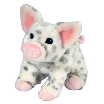 Pauline the Sitting Plush Spotted Pig by Douglas