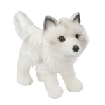 Snow Queen the Standing Stuffed Arctic Fox by Douglas