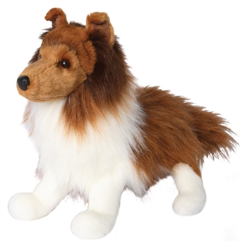 Whispy the Plush Sheltie Puppy by Douglas