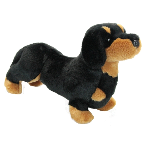 Soft Toy Sausage Dog With Big Eyes