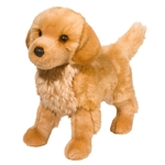 King the Plush Golden Retriever Puppy by Douglas
