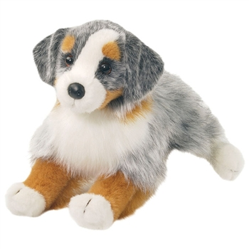 Sinclair the Stuffed Australian Shepherd by Douglas