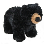 Charcoal the Little Plush Black Bear by Douglas