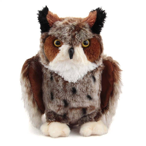 Einstein The Great Horned Owl Stuffed Animal By Douglas