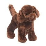 Sylvia the Little Plush Chocolate Lab Puppy by Douglas