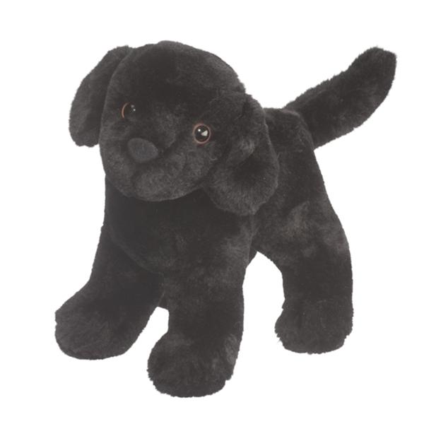 Abraham The Little Plush Black Lab Puppy By Douglas