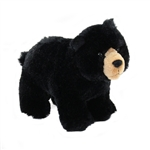 Morley the Standing Plush Black Bear by Douglas
