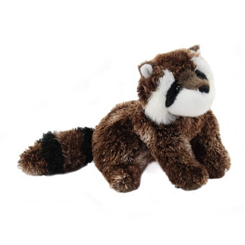 Patch the Little Plush Raccoon by Douglas