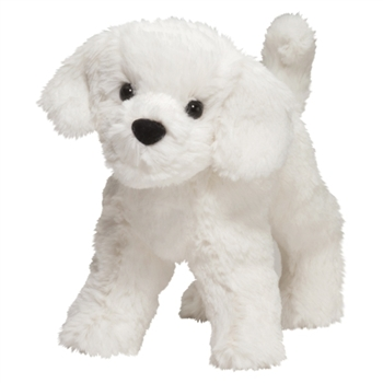 Dandelion the Little Plush Bichon Frise by Douglas