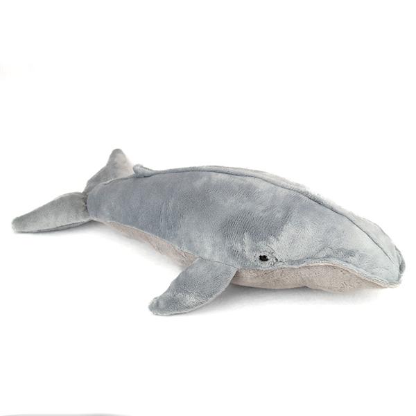 stuffed blue whale 22 inch plush whale by fiesta