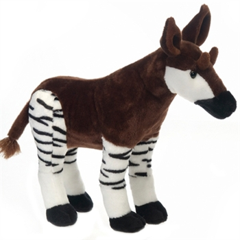 Standing Stuffed Okapi by Fiesta
